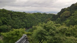 """The """"best view"""" in Kyoto, from atop a Buddhist temple"""