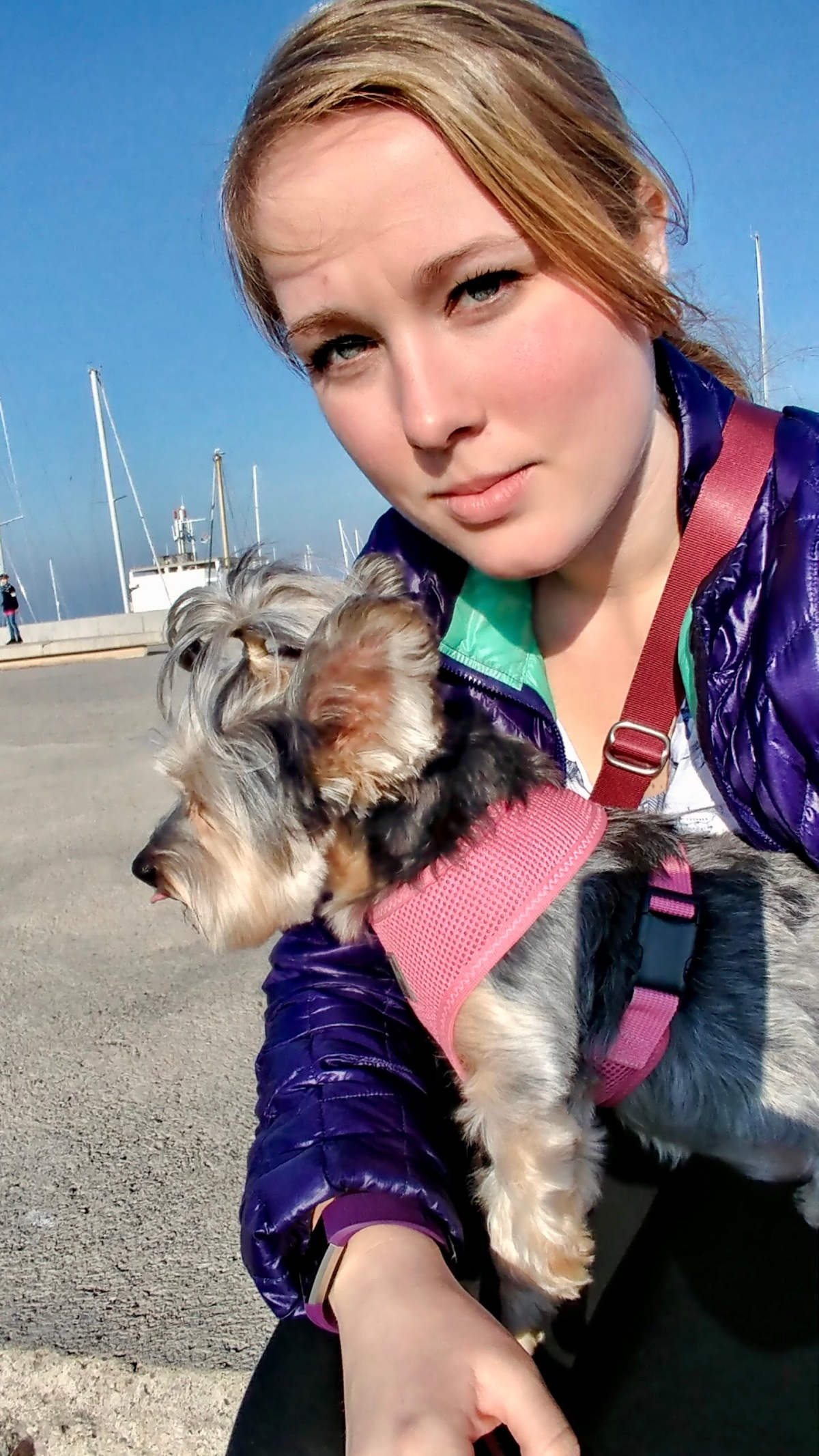 A Girl and Her Dog: The Beginning of A EuropeanAdventure