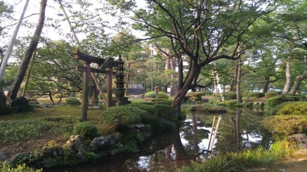 From the Kenroku-En garden in Kanazawa