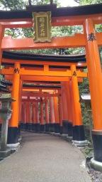 The Fushimi-Inari Shrine