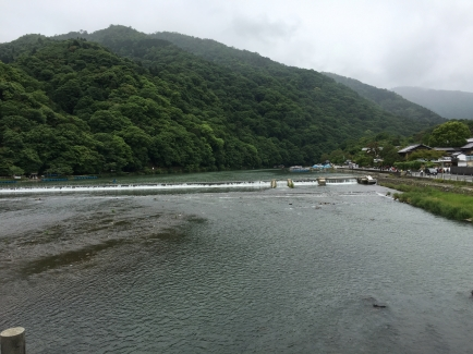 The river in Kyoto