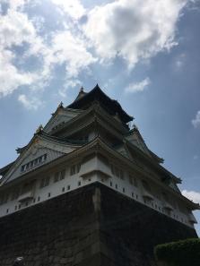 The Osaka Castle