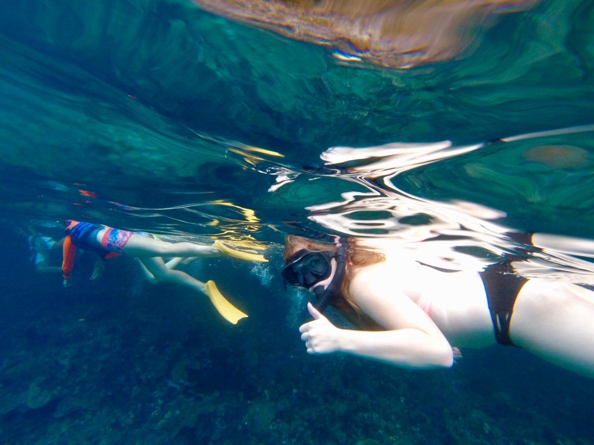 Snorkeling Through Bali