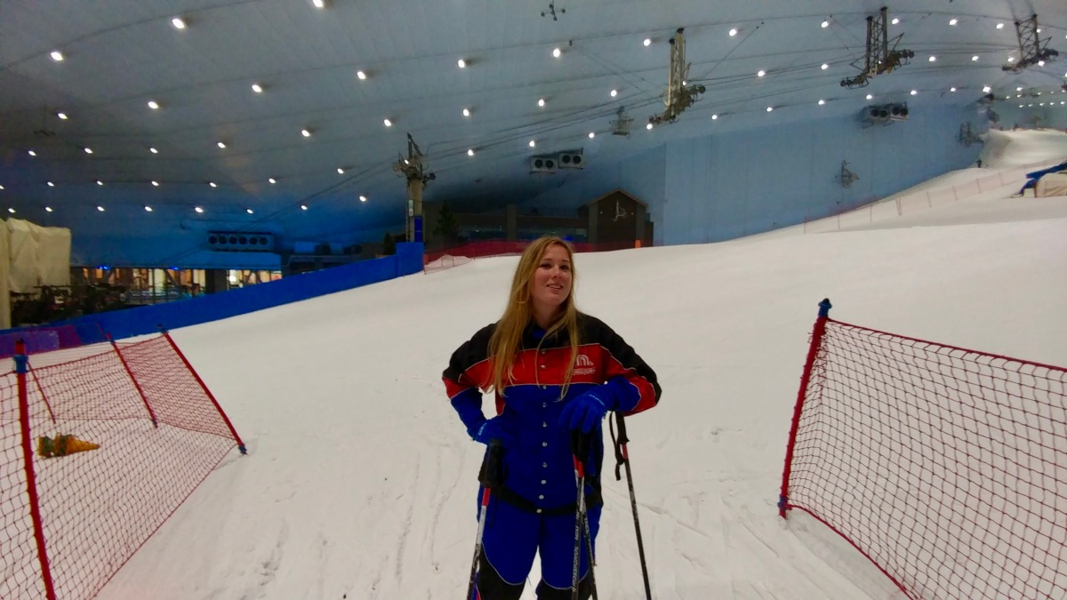 Discovering Dubai: Skiing in theSummer