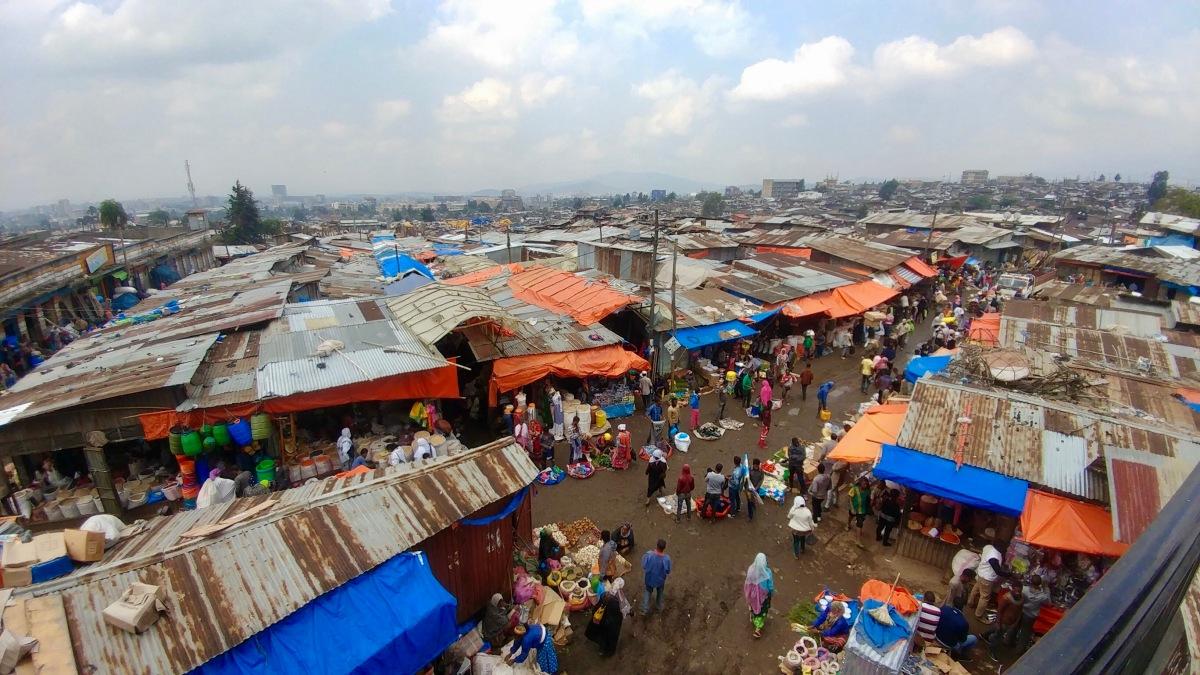 Exploring Ethiopia: TheMerkato