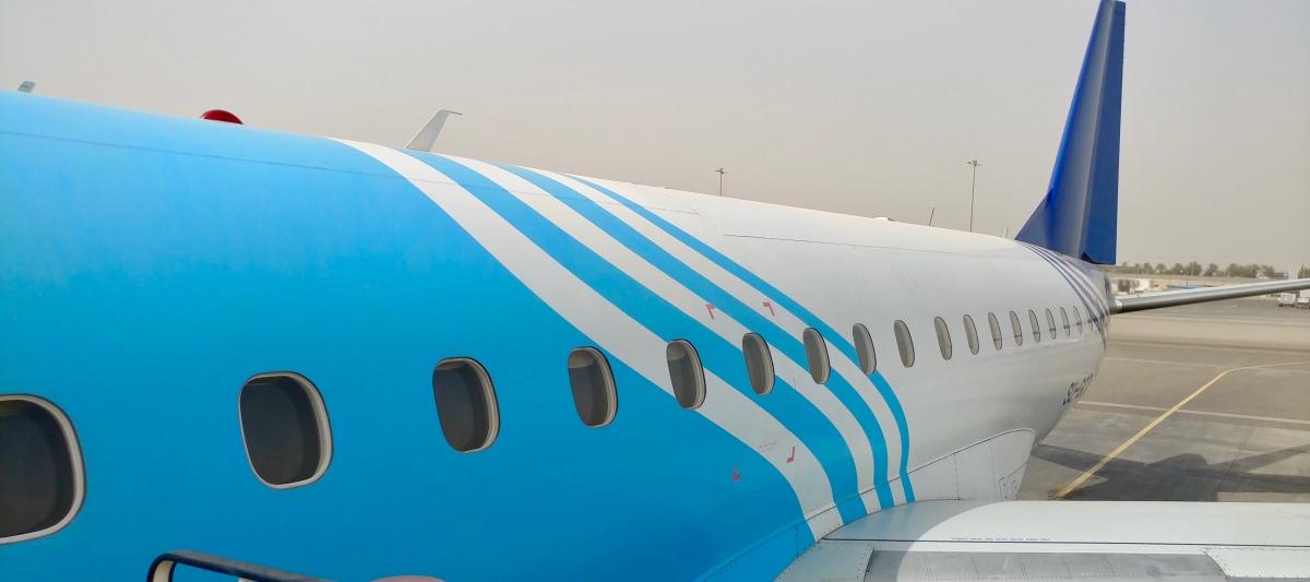 Flying the Sinai
