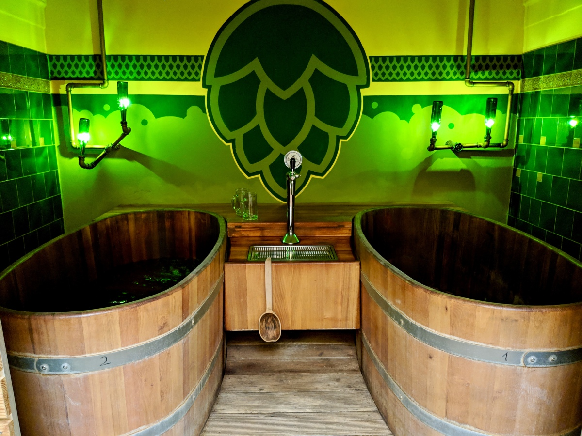 Brewing Ourselves At the BeerSpa